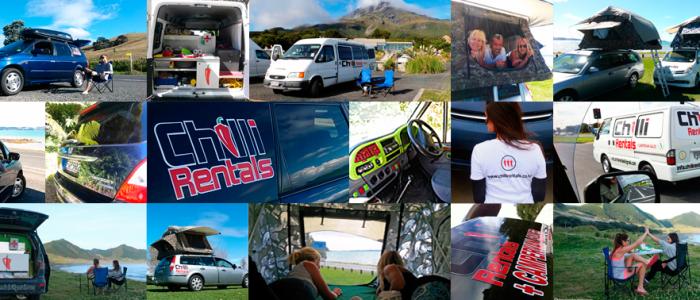 Chilli Rentals Neuseeland Campervans