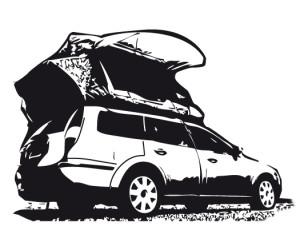 Ford-Zelt-Aufsatz