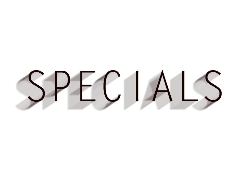 Spezial Angebote