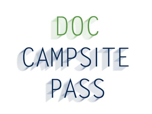 DOC Campsite Pass Neuseeland
