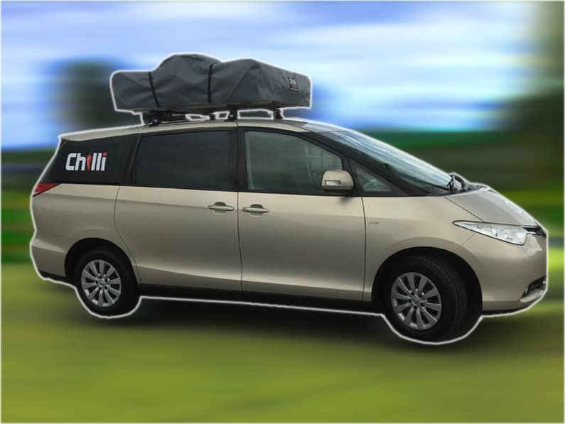 Chilli Rentals the super traveller campervan self-contained